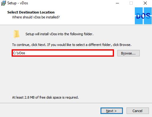 نحوه ی اجرای برنامه های تحت DOS در ویندوز ۱۰